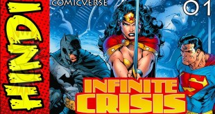 INFINITE CRISIS PART - 1 | DC MULTIVERSE EXPLAINED | DC COMICS IN HINDI | COMICVERSE