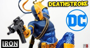 Iron Studios DEATHSTROKE DC Comics Review BR / DiegoHDM