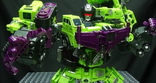 JinBao KO Upscaled Generation Toy GRAVITY BUILDER (Devastator): EmGo's Transformers Reviews N' Stuff
