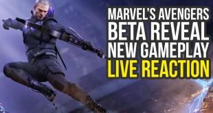 Marvel Avengers Beta Reveal Reaction - New Gameplay, Surprises & More (Marvel Avengers Game)
