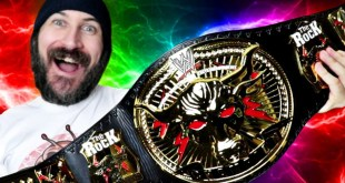 OMG!!!! SURPRISE THE ROCK BRAHMA BULL REPLICA CHAMPIONSHIP UNBOXING!!! WWE EUROSHOP