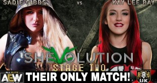Sadie Gibbs [AEW] vs Kay Lee Ray [WWE NXTUK] - Their Only Match!