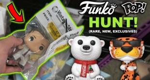 Saturday Morning Funko Pop Hunt! (Finding Rare, New, Exclusive Pops)