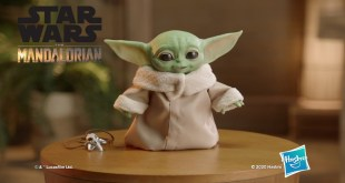 "Star Wars ""The Child"" Baby Yoda Animatronic Edition Toy Trailer"