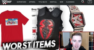 The WORST Items On The WWE Shop! (2019)