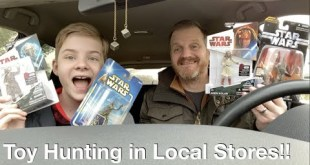Toy Hunting for discount Star Wars toys, Action figures for our Action figure Cave!