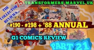 Transformers Marvel UK Comics Review Part 21 1988 Annual + #190 - #198