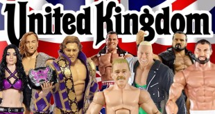 UNITED KINGDOM WWE Action Figures From Mattel