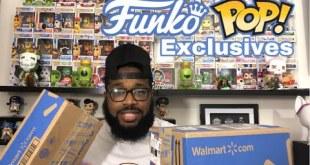 Unboxing Walmart Funko Pop Exclusives!