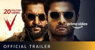 V - Official Trailer   Nani, Sudheer Babu, Aditi Rao Hydari, Nivetha Thomas   Sept 5
