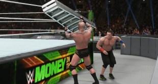 WWE 2K18 - John Cena vs Randy Orton - Ladder Match Gameplay (PS4 HD) [1080p60FPS]