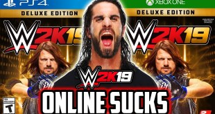 WWE 2K19 ONLINE STILL SUCKS...