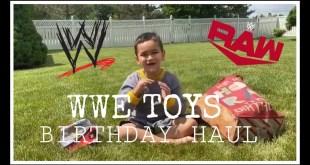 WWE TOYS BIRTHDAY HAUL!