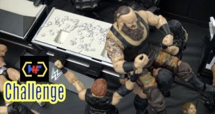 WWE action Figure Set up - Wrestling Hero Figz Challenge