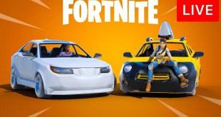 🔴 [LIVE] *NEW* FORTNITE UPDATE! (CARS)