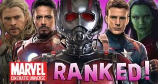 12 Marvel Cinematic Universe Movies Ranked