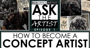ASK THE ARTIST Ep01: How To Become A Concept Artist