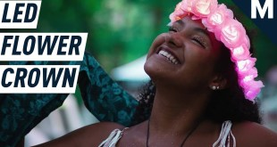 An LED Flower Crown Will Take You To The Next Level | Mashable