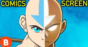 Avatar The Last Airbender: Comics VS. TV Series