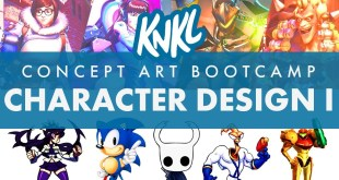 Concept Art BOOT CAMP 7: Character Design I (3 Keys to a successful character!)