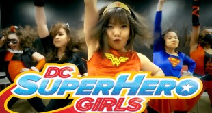 DC Super Hero Girls | Choreography by @MattSteffanina (@DCComics)