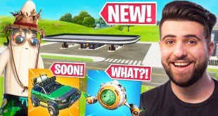 Everything Epic Didn't Tell You In The CARS Update! (Spaceship, Gas Stations) - Fortnite Season 3