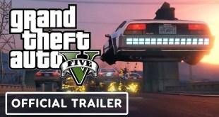 Grand Theft Auto 5: Enhanced Edition - Official Trailer   PS5 Reveal Event