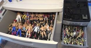 How I Organize My WWE Toys!!!!!!