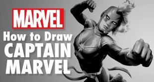 How to Draw Captain Marvel LIVE w/ Todd Nauck! | Marvel Comics