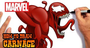 How to Draw Carnage | Marvel Comics