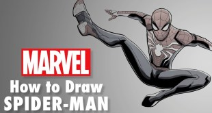 How to Draw PS4 Spider-Man LIVE w/ Will Sliney! | Marvel Comics