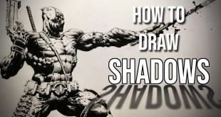 How to Draw Shadows - How to Shade an Entire Figure (Easy Step by Step Drawing Tutorial)