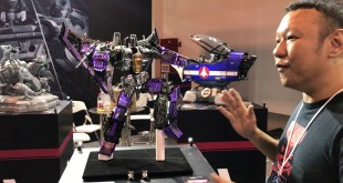 Interview with Imaginarium Art Transformers G1 line up SHANG HAI COMIC CON