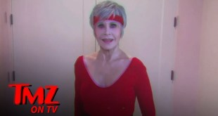 Jane Fonda Leads Celebrity Exercise Video to Encourage Voting   TMZ TV