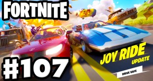 Joy Ride Update! Duos #1 Victory Royale! - Fortnite - Gameplay Part 107