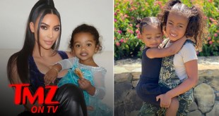 Kim Kardashian's Kid's Are Wild & Cute! | TMZ TV