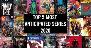Mike's TOP 5 Most Anticipated COMIC SERIES of 2020!