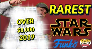 Most Expensive Star wars Funko Pops Ever!!! 2019