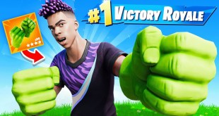 New *HULK* SMASHERS Challenge in Fortnite!