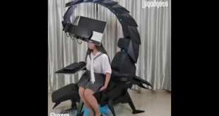 Scorpion Gaming Chair Cluvens Imperator Works IW SK Workstation for  esports Epic Cool Gadgets Tech.
