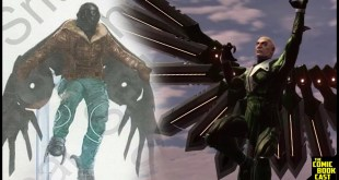 Spider-Man Vulture Concept Art & Breakdown