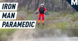 This 'Iron Man'-Style Jetpack Is Used For Search & Rescue | Mashable