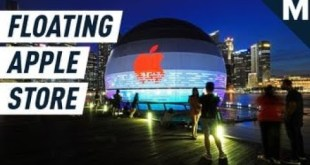 This Floating Apple Store in Singapore is an Architectural Marvel   | Mashable