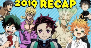 2019 Anime Year In Review with Get In The Robot