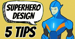 5 Tips on How to Draw a Superhero