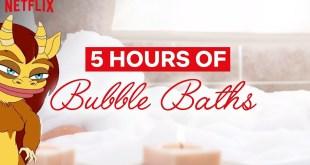 Big Mouth | 5 Hour Bubble Bath | Netflix