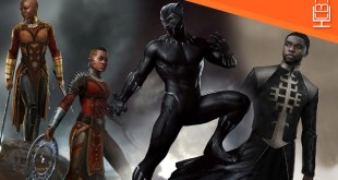 Black Panther Concept Art Reveals a Stunning & Unique Look at the Film