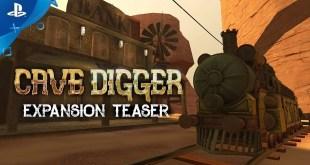 Cave Digger - Expansion Teaser | PS VR