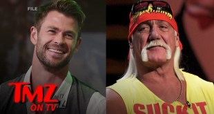 Chris Hemsworth Transforming Into Hulk Hogan For New Movie | TMZ