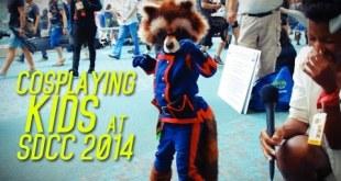 Cosplaying Kids at SDCC 2014